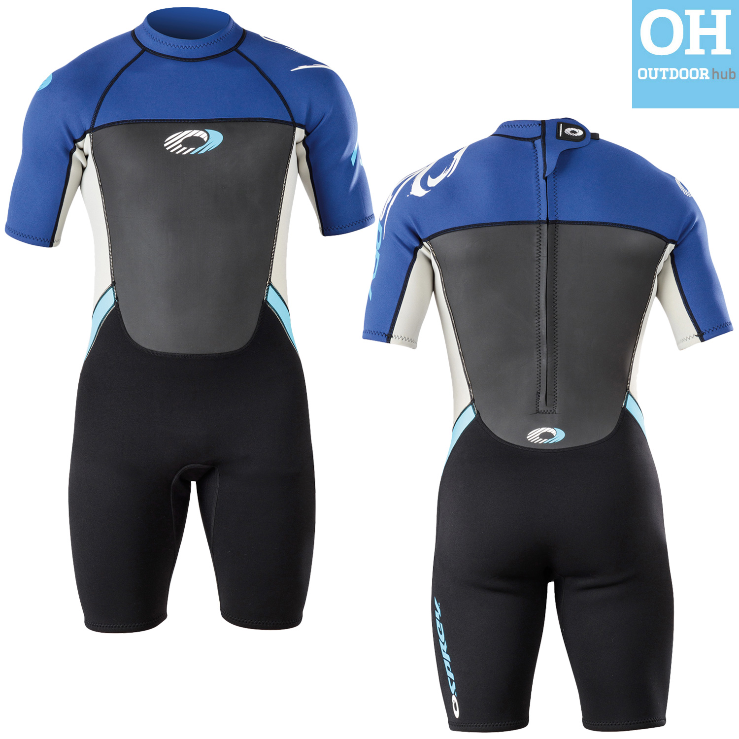 Details about Osprey Origin Childrens 3/2mm Shorty Neoprene Kids Wetsuit  Shortie Boys Girls