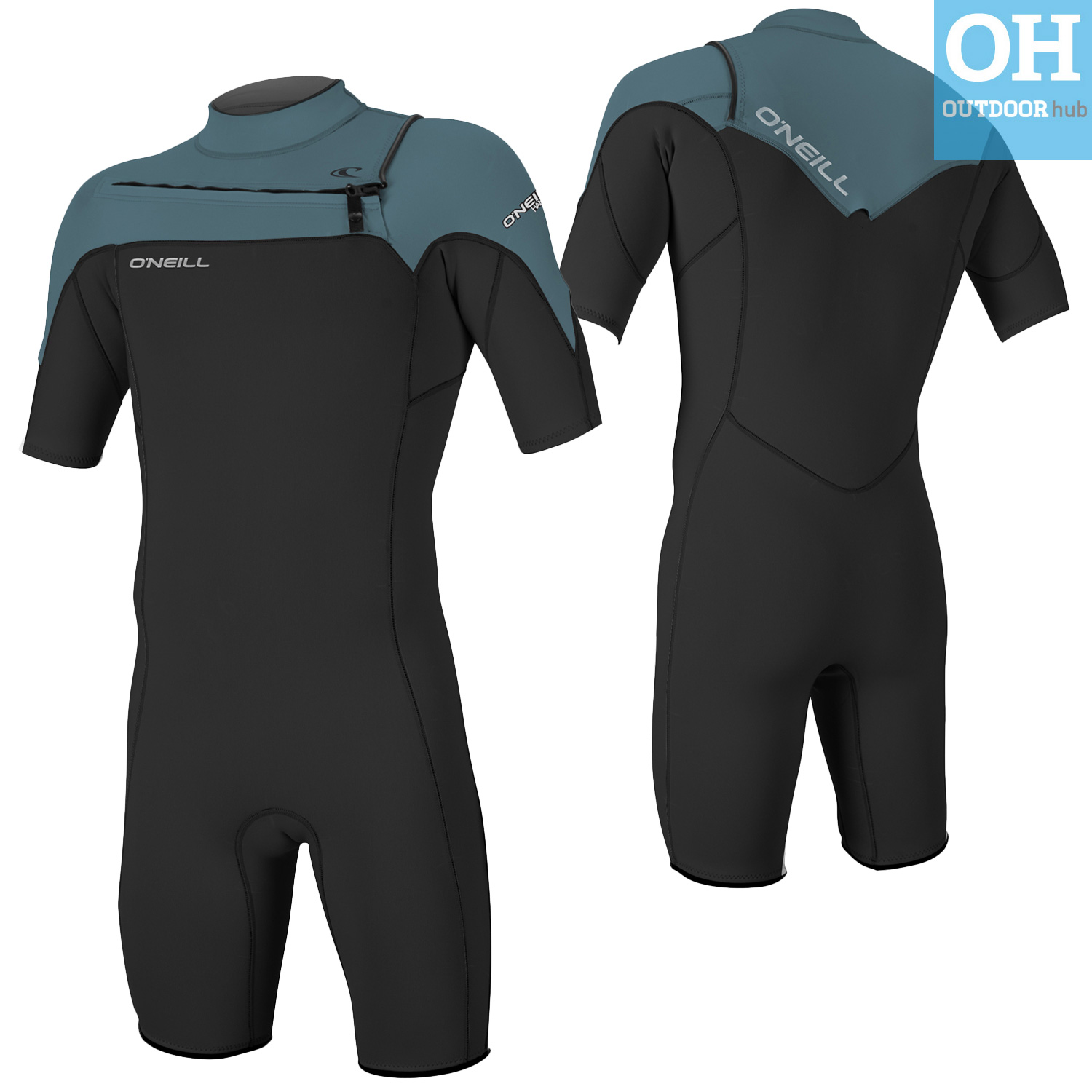 O Neill Mens Spring Wetsuit Hammer Short Sleeve Spring Suit Chest ... 3f5807b73
