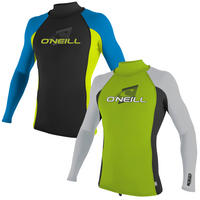 O'NEILL YOUTH SKINS L/S TURTLENECK RASH VEST - MASTER