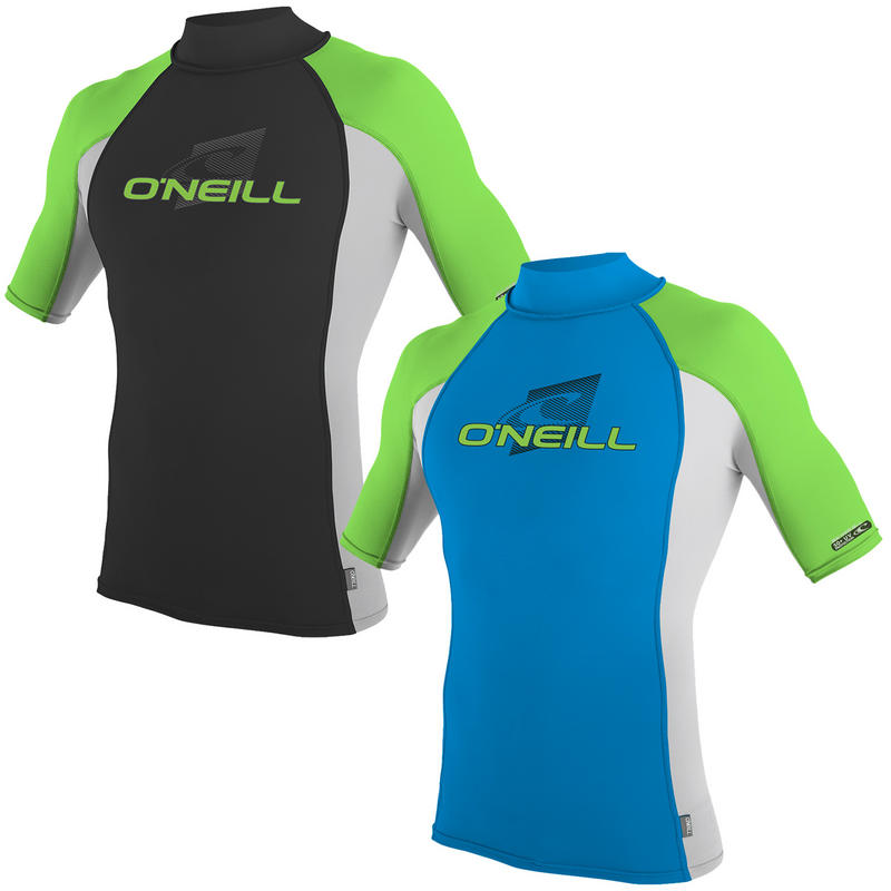 O'NEILL YOUTH SKINS S/S TURTLENECK RASH VEST - MASTER