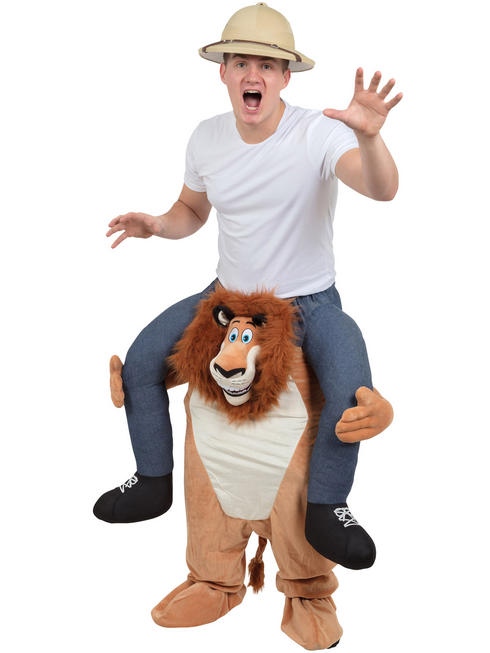 Adult's Lion Piggy Back Costume