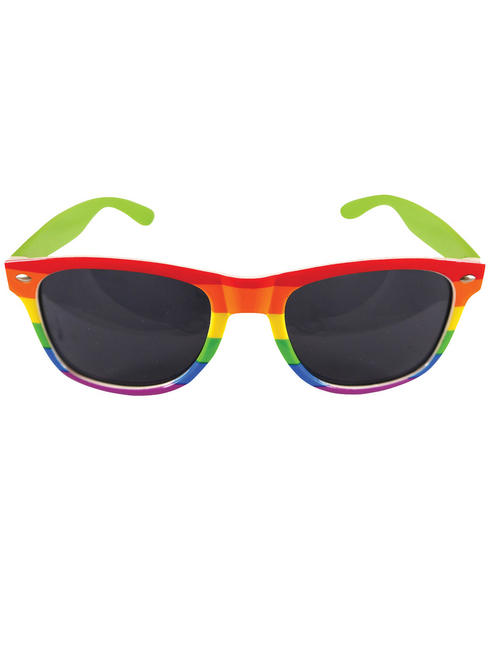 Rainbow Dark Glasses