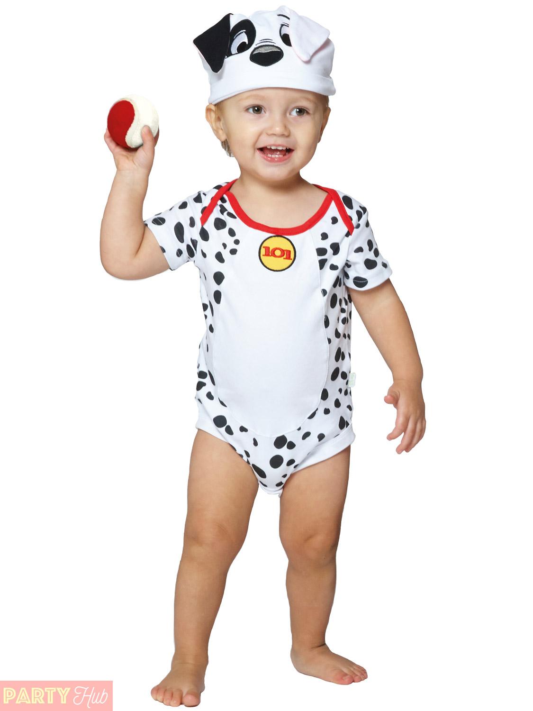 Baby-Toddler-101-Dalmatians-Costume-Childs-Disney-Travis-  sc 1 st  eBay & Baby Toddler 101 Dalmatians Costume Childs Disney Travis Design ...
