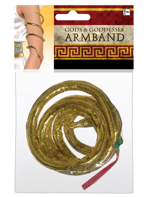 Ladies Egyptian Snake Armband