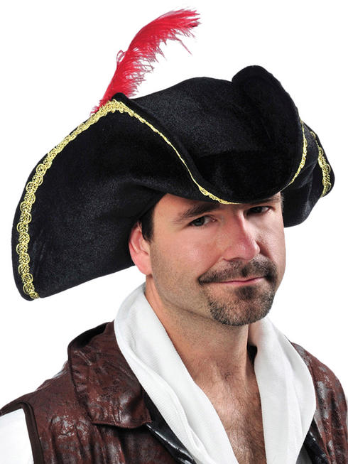 Adults Pirate Buccaneer Hat