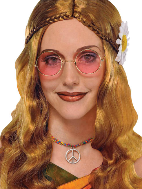 Adults 60s Hippie Glasses