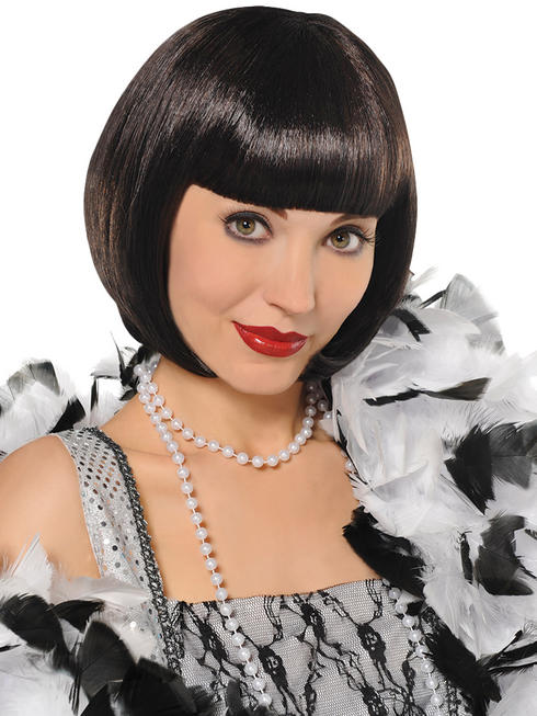 Ladies 1920s Flapper Wig