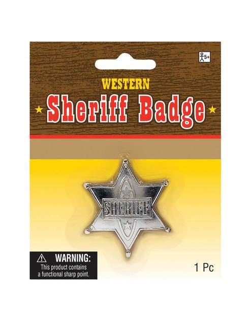 Adults Cowboy Sheriff Badge