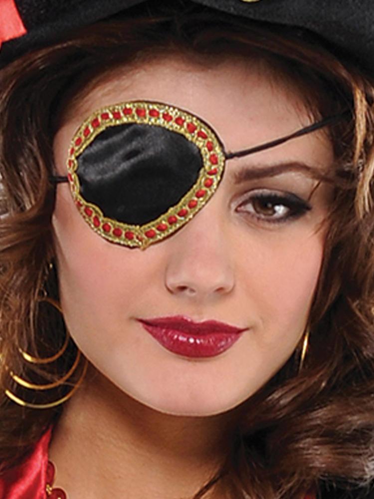 Adults Pirate Elegant Eye Patch