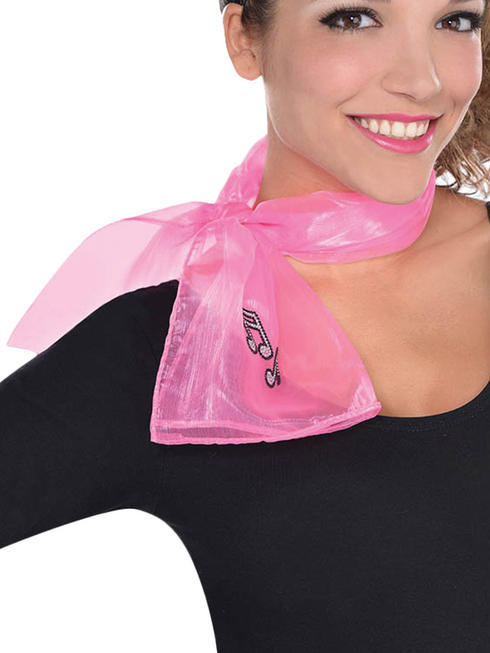 Ladies Fab 50s Pink Scarf