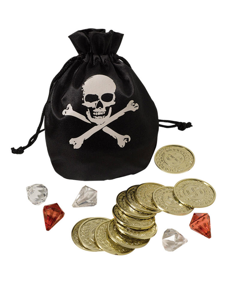 Adults Pirate Coin & Pouch