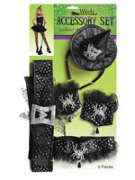 Ladies Witch Accessory Kit