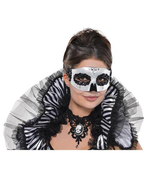 Ladies Skeleton Venetian Mask