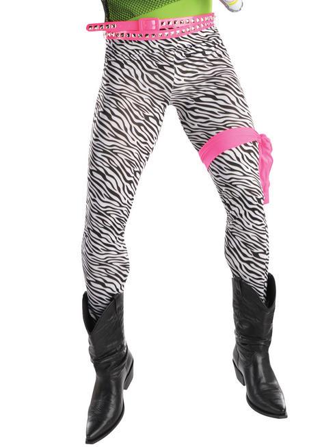 Men's 80s Zebra Trousers