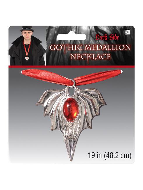 Adult's Gothic Vampire Medallion