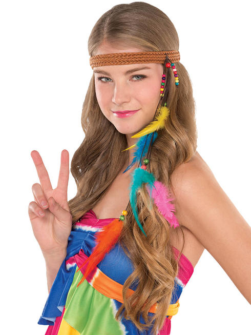 Adults 60s Hippie Headband