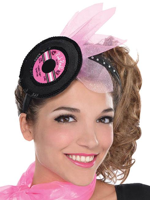 Ladies Fab 50s Record Headband