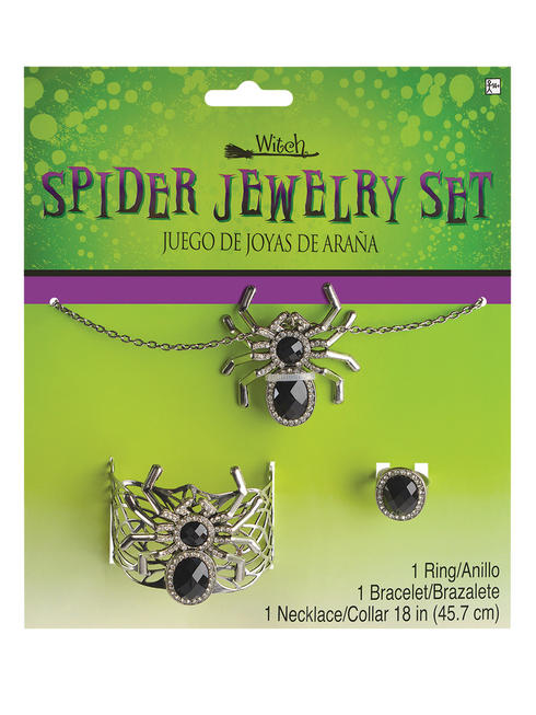 Adult's Witch Spider Jewellery