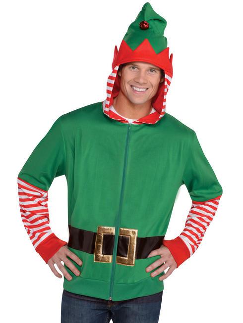 Men's Elf Xmas Hoodie