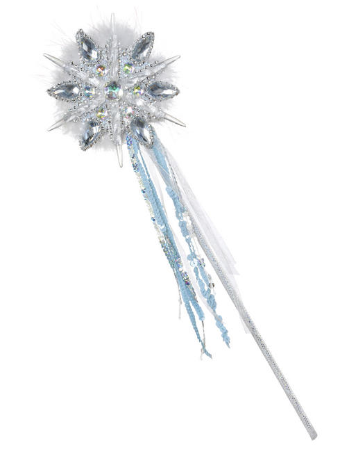 Ladies Shimmer Ice Fairy Snowflake Wand