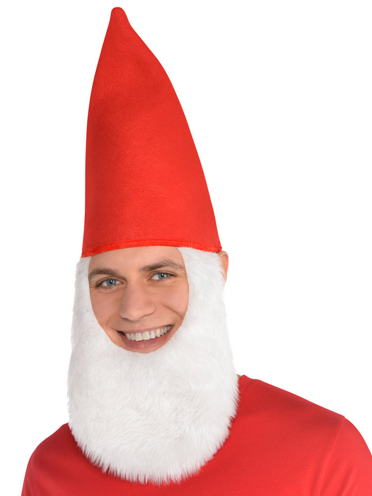 Adults Gnome Hat with Beard
