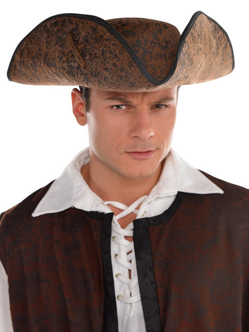 Adults Pirate Ahoy Matey Hat