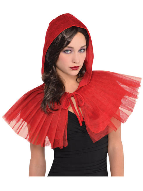 Ladies Red Riding Hood Capelet