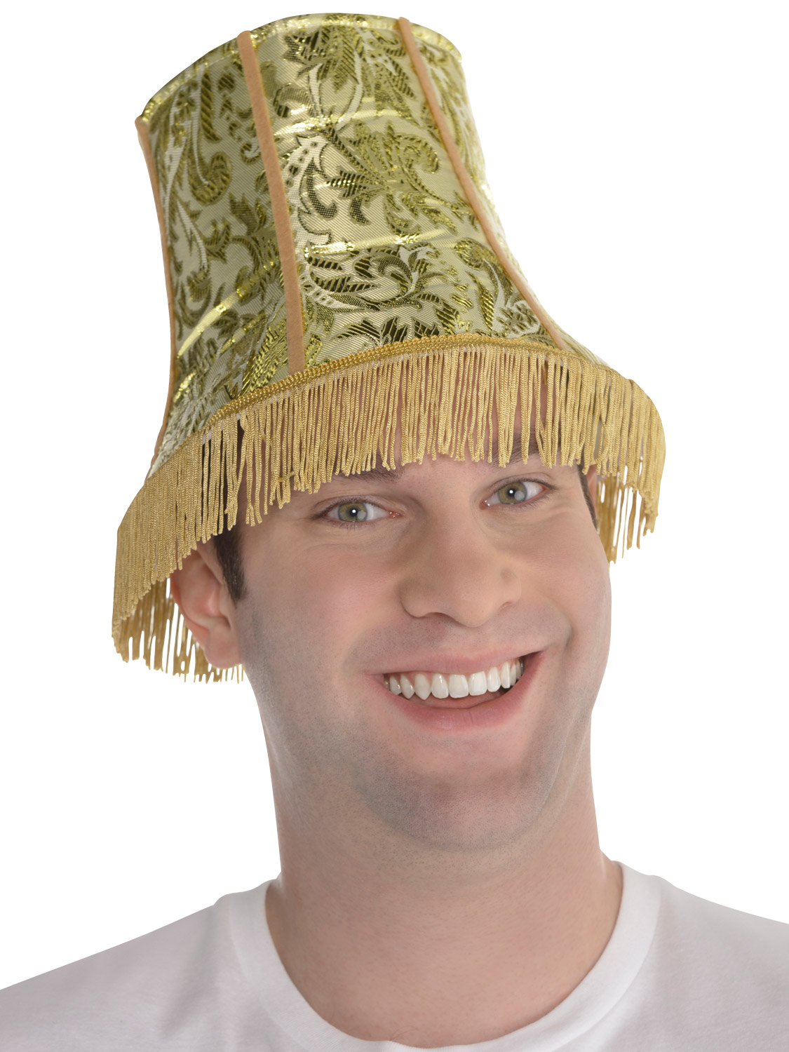 Details about Adult Lamp Shade Hat Mens Funny Novelty Fancy Dress Costume  Stag Party Accessory e69ea30943e