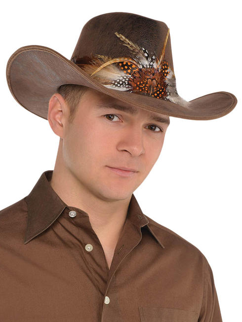 Adults Cowboy Deluxe Hat