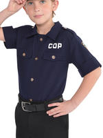 Boy's Police Shirt - Standard