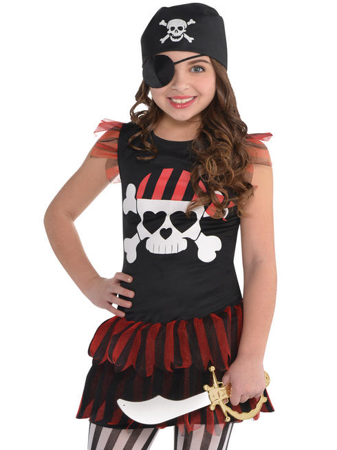 Girl's Pirate T-Shirt Dress