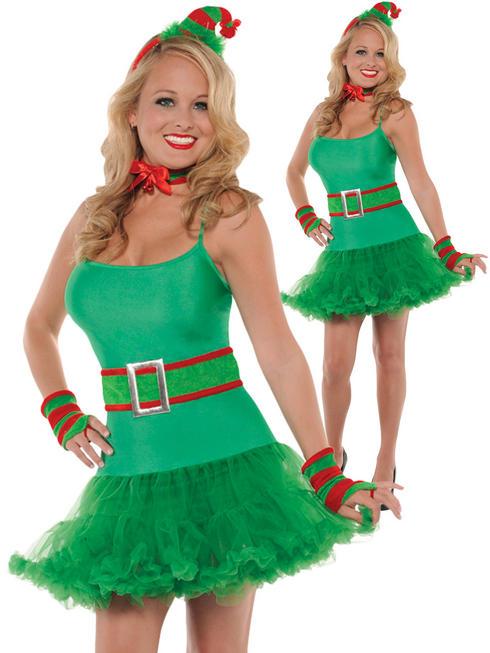 Ladies Santa's Helper Elf Kit