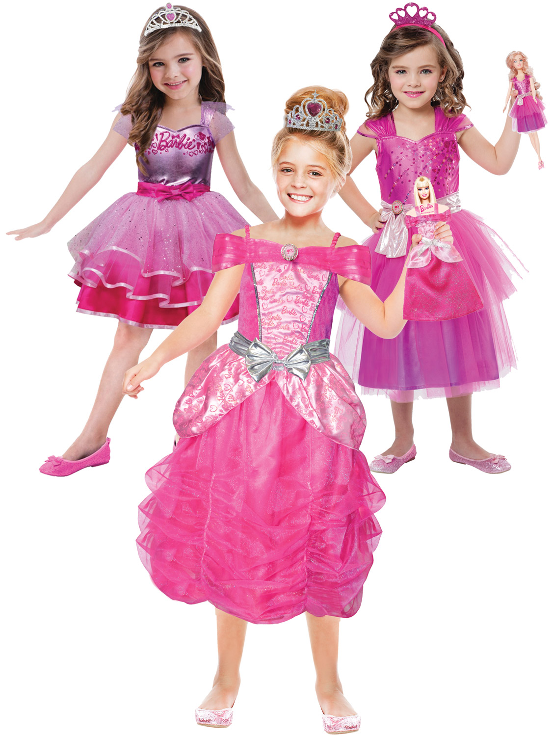 095ed20f Girl's Barbie Princess Costume | All Children | Fancy Dress Hub