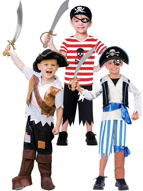Boy's Travis Pirate Costume