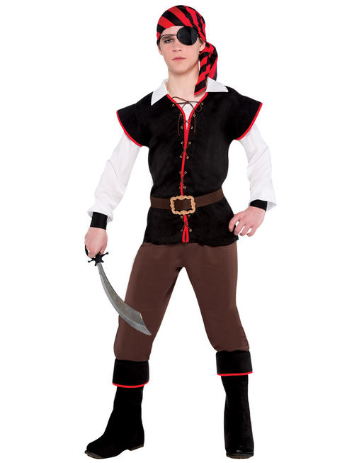 Boy's Teen Rebel of the Sea Costume