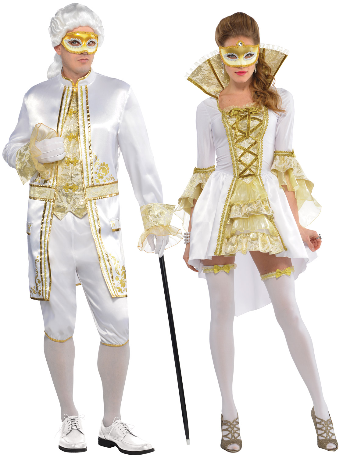Adult Casanova Venezia Costume Men Ladies Venetian ...