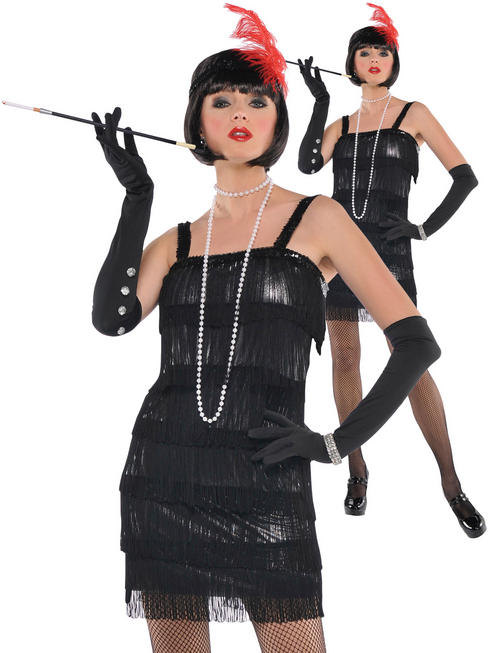 Ladies Flashy Flapper Costume
