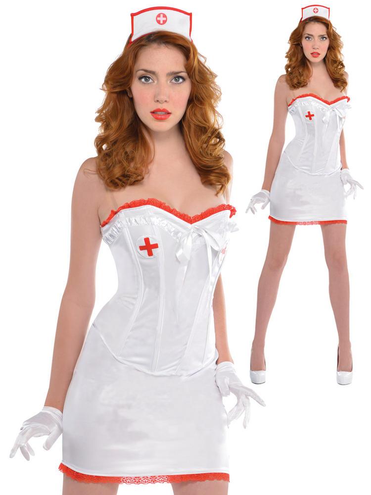 Ladies Sexy Nurse Costume