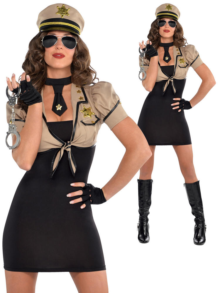 Ladies Shakedown Sheriff Costume