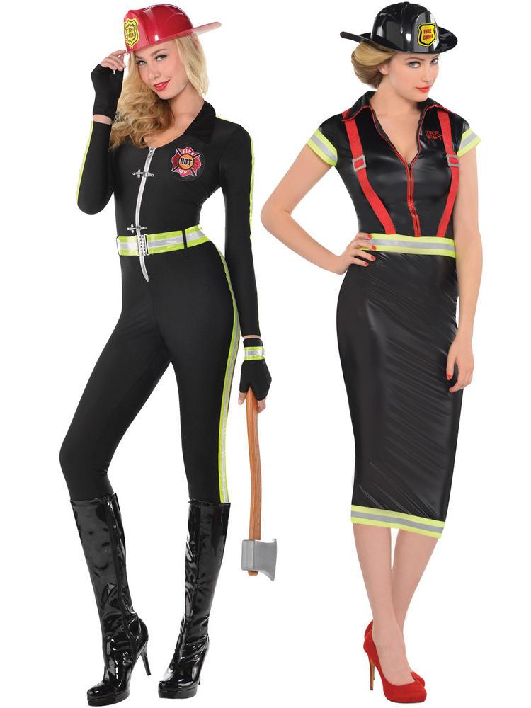 Ladies Fired Up / Firegirl Costume