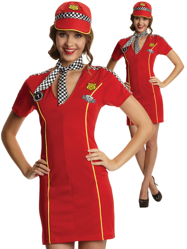 Ladies Racing Girl Costume