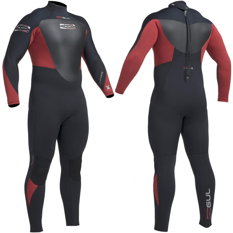 Gul Response 5/3mm BS Mens Steamer Wetsuit