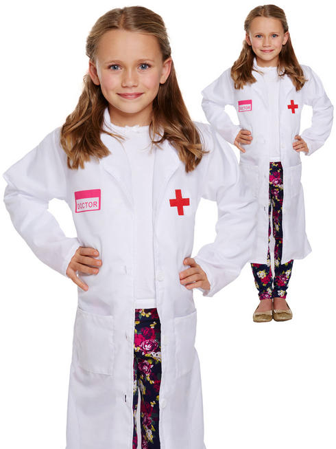 Girl's Doctor Coat Costume
