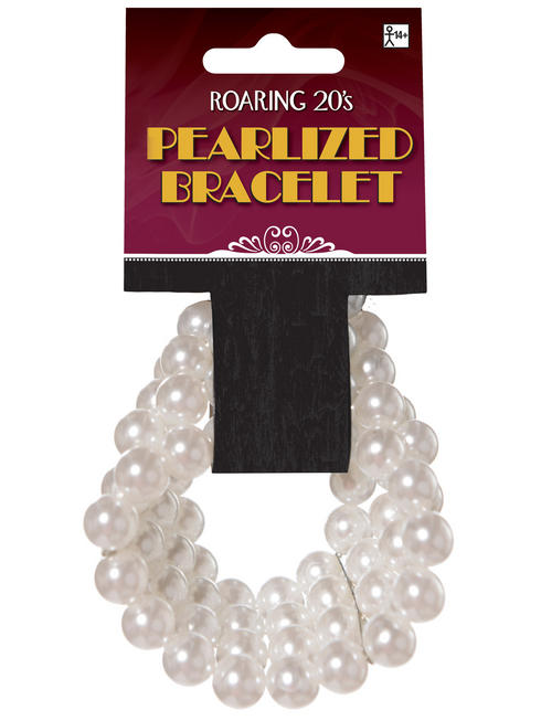 Ladies 1920s Faux Pearl Bracelet