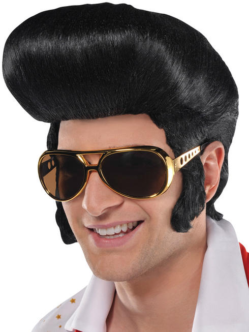 Men's 50s 'The King' Wig