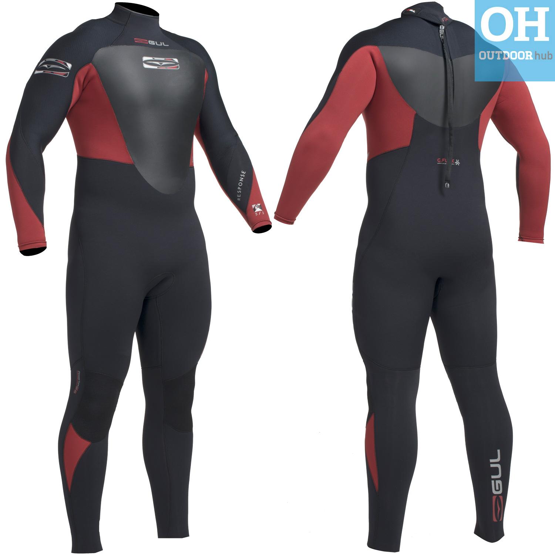 Gul-Response-5mm-Mens-Full-Wetsuit-Neoprene-Steamer-Diving-Surfing-Swim-Sailing