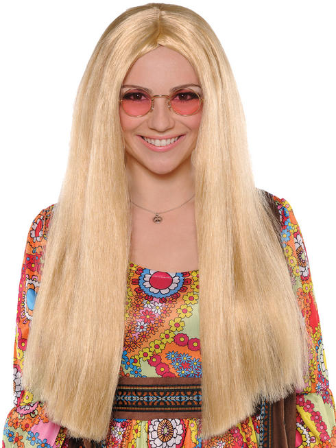 Adults 60s Hippie Sunshine Day Wig