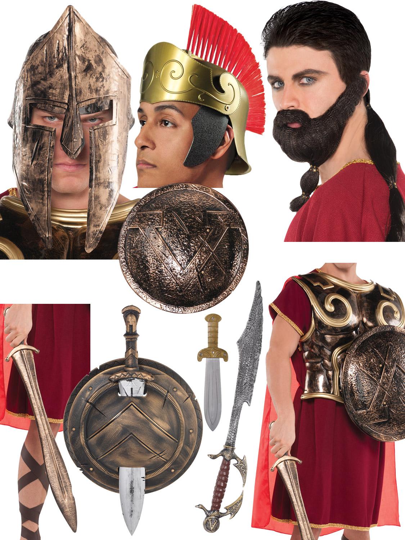 Warrior Sheild Fancy Dress Accessoires