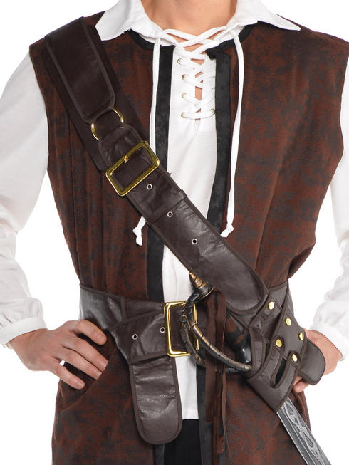 Adults Pirate Belt Bandolier