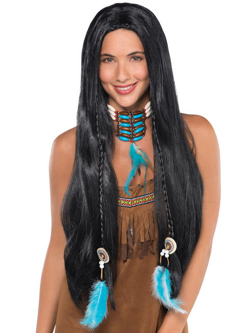 Adults Native American Wig